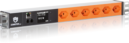 E3METER® Intelligent Power Strip T23 orange